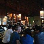 Bar in the restaurant level