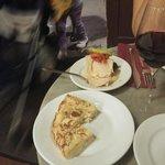 Tortilla et pavé de thon à l'huile d'olive