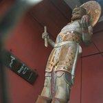 Статуя хранителя в Каминари-мон