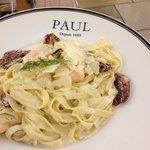 Pasta Specials : Tagliatelle aux crevettes et moutarde