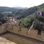 View from Karlstejn Castle
