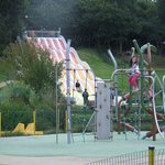 Slide and climbing frame