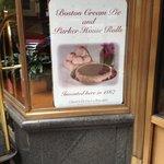 Home Boston Cream Pie & Parker House Rolls!