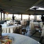 La Terrazz zona Pranzo/Cena/Colazione, con bellissimo panorama!