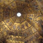 Inside the Baptistery