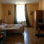 Una de las dos habitaciones Apartmány U Krále