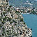 Utsikt mot Riva Del Garda