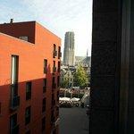 Aussicht aus dem Fenster, Zimmer Westseite