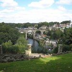 Knaresborough - river from castle