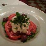 burrata salad (asked as a special)
