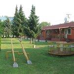 Boglárka Apartmanházak (udvar, játszótér)