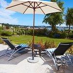 Superior Garden Sea View rooms terrace