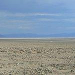 vue sur Badwater Basin depuis Artist's Drive