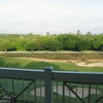 View of golf course from unit