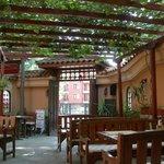 This is the lovely Garden restaurant