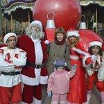 Нас встретил Санта Клаус