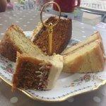 The cake platter
