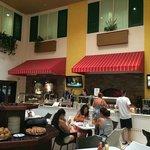 Il Giardino Italian Bistro Restaurant during Breakfast