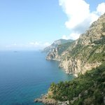 The view from one of our stops along the Amalfi Coast