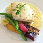 Catch of the day, Halibut. Delish!
