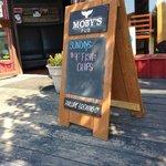 Specials plackard Moby's Pub  |  124 Upper Ganges Road, British Columbia V8K 2S2, Canada