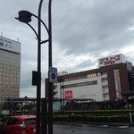 Building and Hirosaki JR station