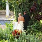 Wedding Walk through Grounds