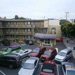 La reception e il parcheggio