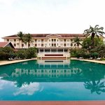 Pool of the Grand Hotel d'Angkor in Siem Reap, Cambodia