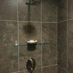 Lovely walk-in shower