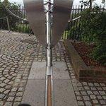 Il famoso meridiano zero di Greenwich