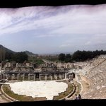 Ephesus - A panoramic picture