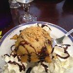 beignet glace coco