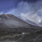 Mount Etna 2500 m.
