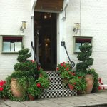 The stunning entrance ....