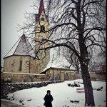 La chiesa sulla collina