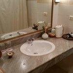 Wash hand basin area