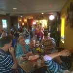 Nice atmosphere for Mexican food fanatics
