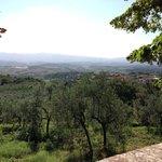 Vistas desde la fuente de Villa Belpoggio