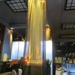 Decoracion luminosa en Cafeteria