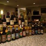 Garden Beer & Wine Bar selection