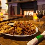 Garden Grille & Bar appetizer plate
