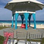 Wedding gazebo location