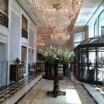 Amazing hotel entrance