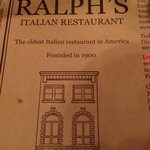The oldest Italian restaurant in Philadelphia