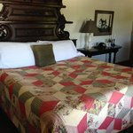 King size antique bed