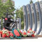 Чёрный тюльпан - памятник павшим в боях в Афганистане
