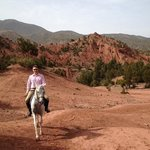 Riding in the Atlas Mountains