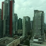View of Coal Harbour neighborhood from our room.