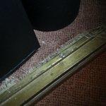 Detalle de la alfombra, así todo el resto
